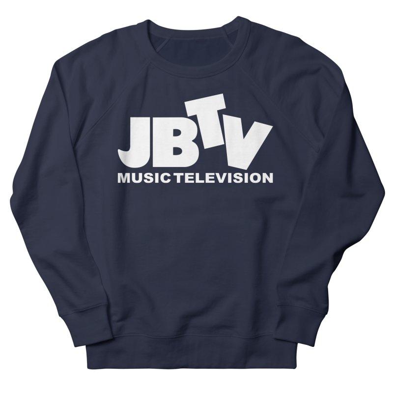 JBTV Music Television White Men's Sweatshirt by JBTV's Artist Shop