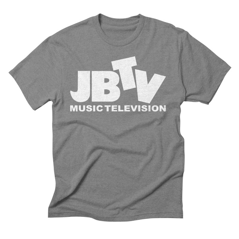 JBTV Music Television White Men's Triblend T-Shirt by JBTV's Artist Shop