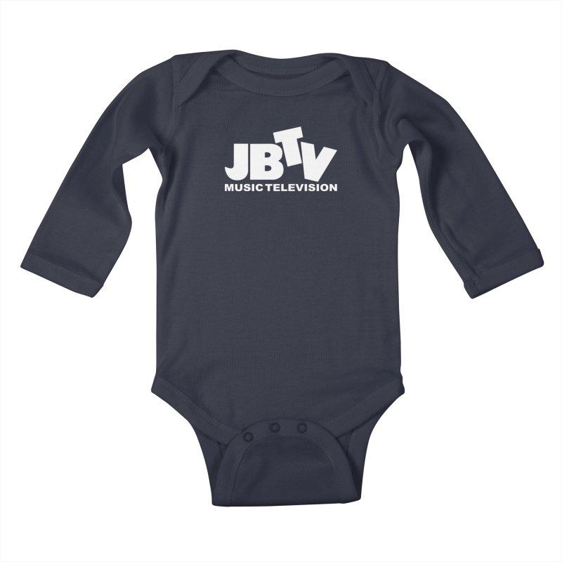 JBTV Music Television White Kids Baby Longsleeve Bodysuit by JBTV