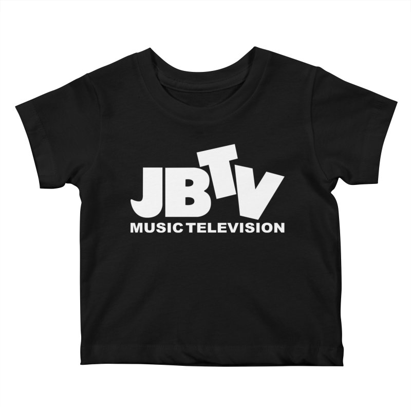 JBTV Music Television White Kids Baby T-Shirt by JBTV's Artist Shop