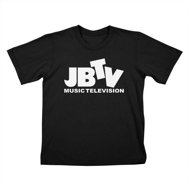 JBTV Music Television White Kids T-Shirt by JBTV