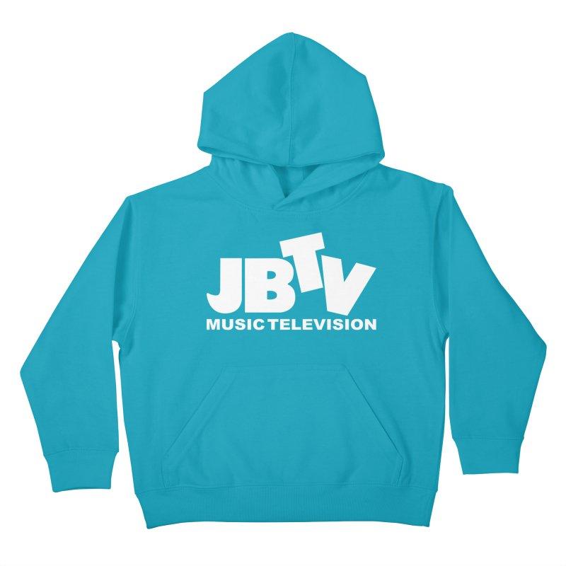 JBTV Music Television White Kids Pullover Hoody by JBTV's Artist Shop