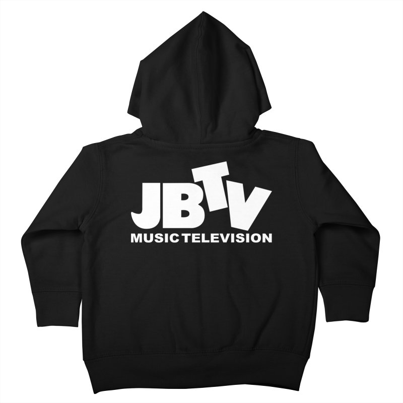 JBTV Music Television White Kids Toddler Zip-Up Hoody by JBTV