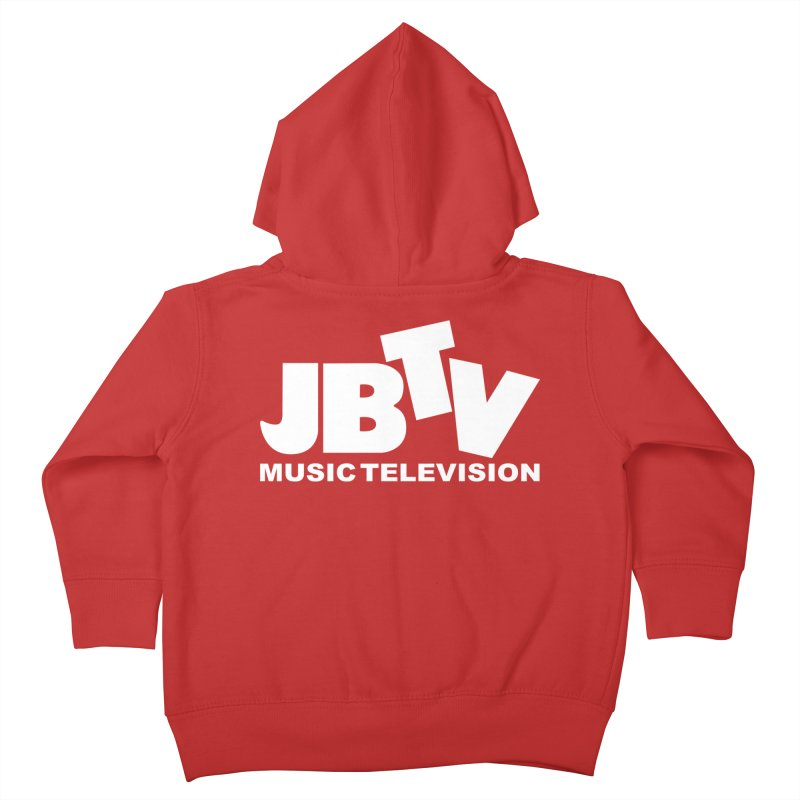 JBTV Music Television White Kids Toddler Zip-Up Hoody by JBTV's Artist Shop