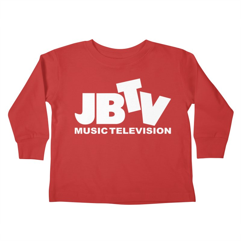 JBTV Music Television White Kids Toddler Longsleeve T-Shirt by JBTV