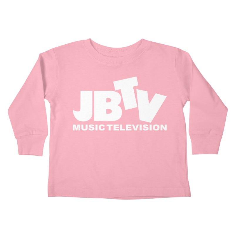 JBTV Music Television White Kids Toddler Longsleeve T-Shirt by JBTV's Artist Shop
