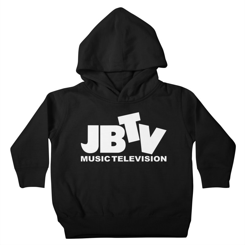 JBTV Music Television White Kids Toddler Pullover Hoody by JBTV