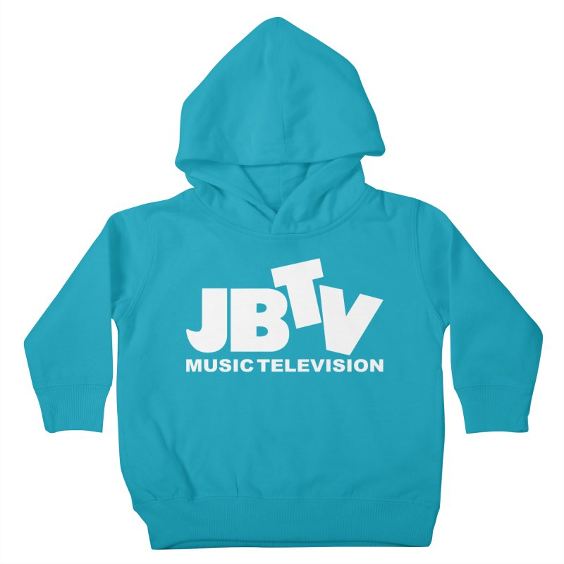 JBTV Music Television White Kids Toddler Pullover Hoody by JBTV's Artist Shop
