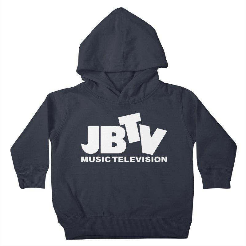 JBTV Music Television White Kids Toddler Pullover Hoody by JBTV
