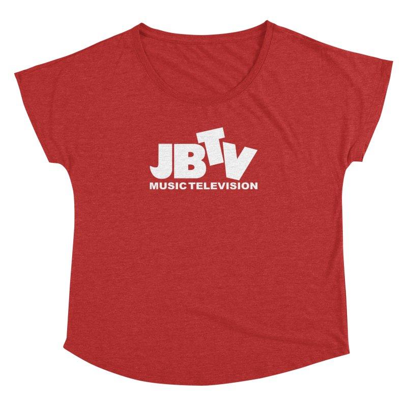 JBTV Music Television White Women's Dolman by JBTV's Artist Shop