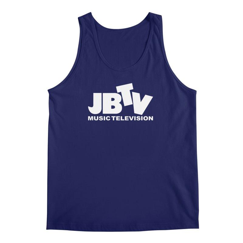 JBTV Music Television White Men's Regular Tank by JBTV's Artist Shop