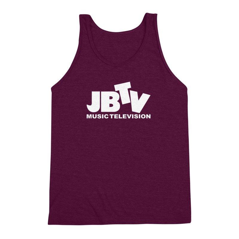 JBTV Music Television White Men's Triblend Tank by JBTV's Artist Shop