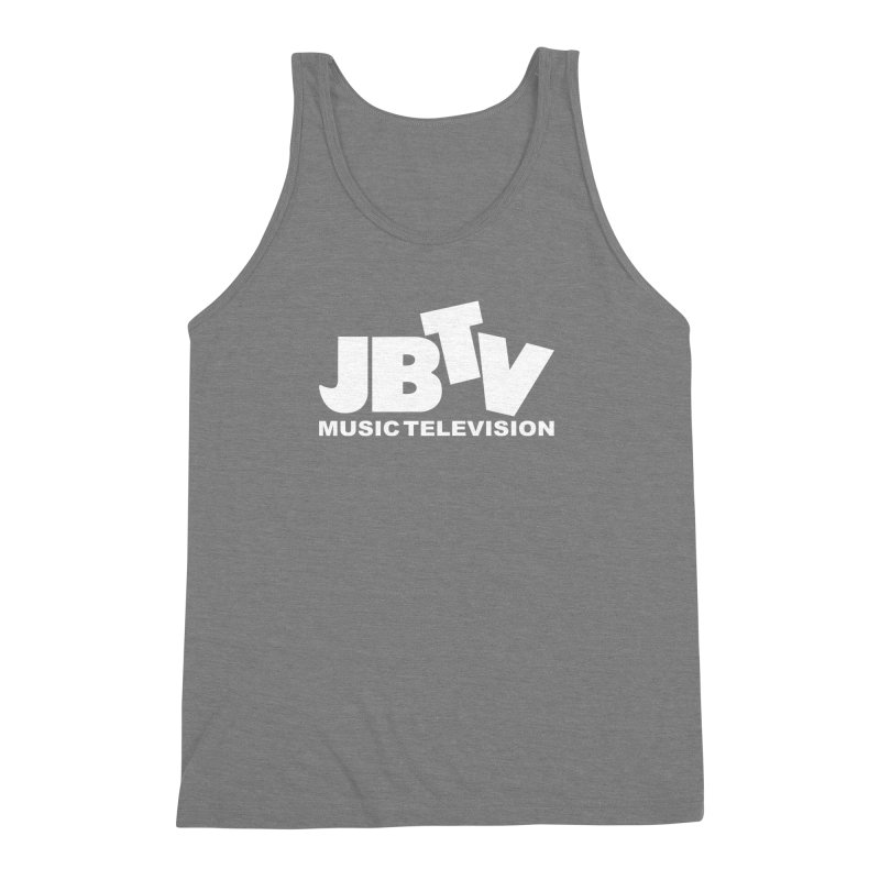 JBTV Music Television White Men's Triblend Tank by JBTV