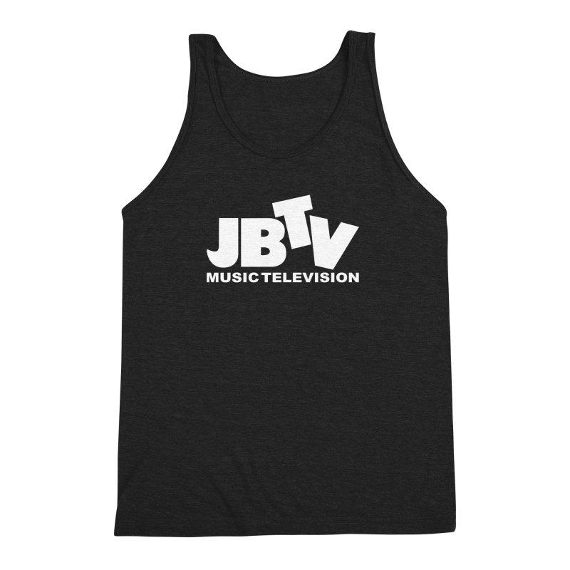 JBTV Music Television White Men's Triblend Tank by JBTV