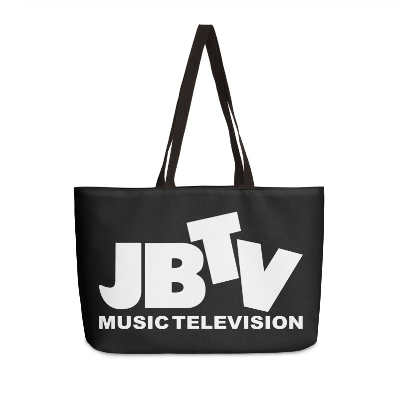 JBTV Music Television White Accessories Weekender Bag Bag by JBTV