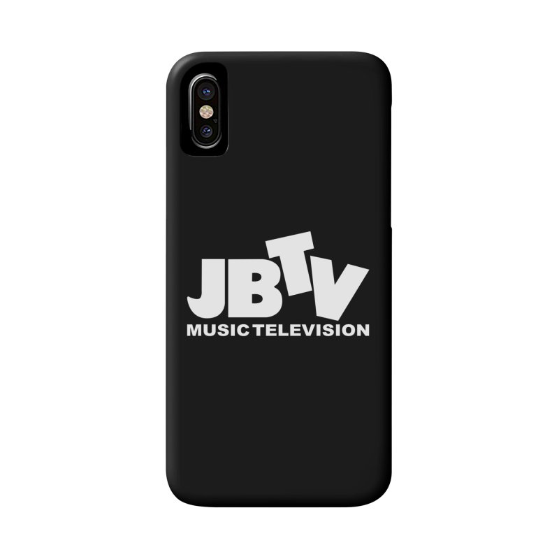 JBTV Music Television White Accessories Phone Case by JBTV's Artist Shop