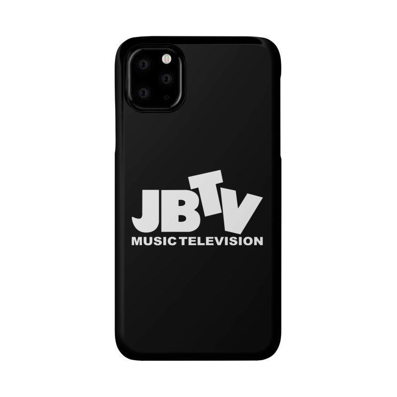 JBTV Music Television White Accessories Phone Case by JBTV