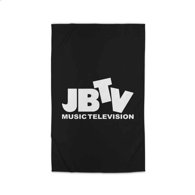 JBTV Music Television White Home Rug by JBTV's Artist Shop