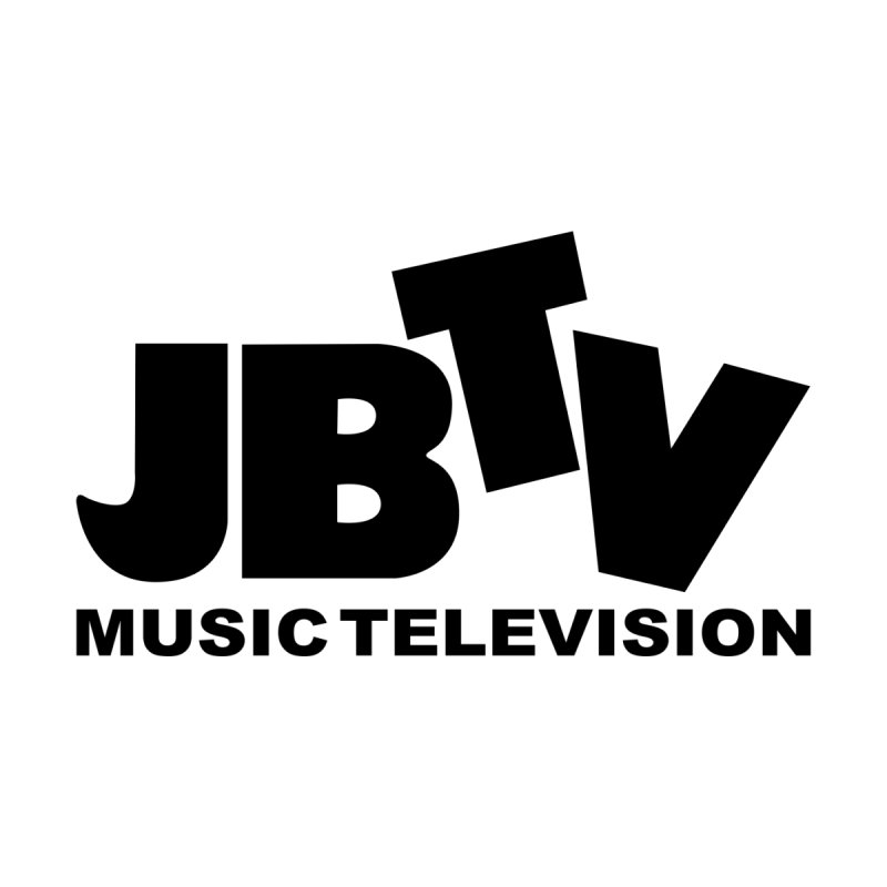 JBTV Music Television Black Men's V-Neck by JBTV
