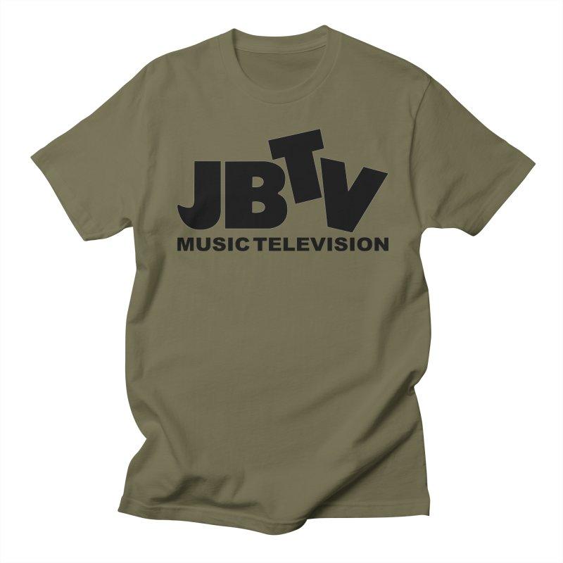 JBTV Music Television Black Men's T-Shirt by JBTV
