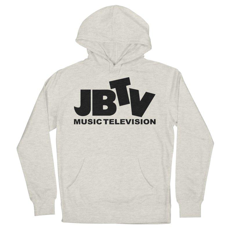 JBTV Music Television Black Women's Pullover Hoody by JBTV's Artist Shop