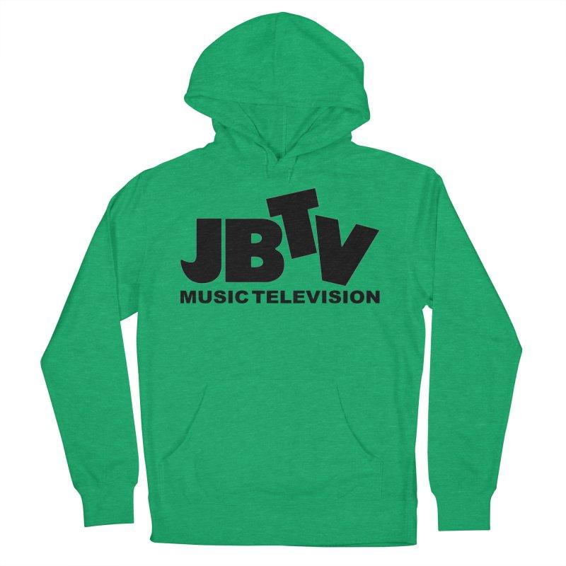 JBTV Music Television Black Men's French Terry Pullover Hoody by JBTV