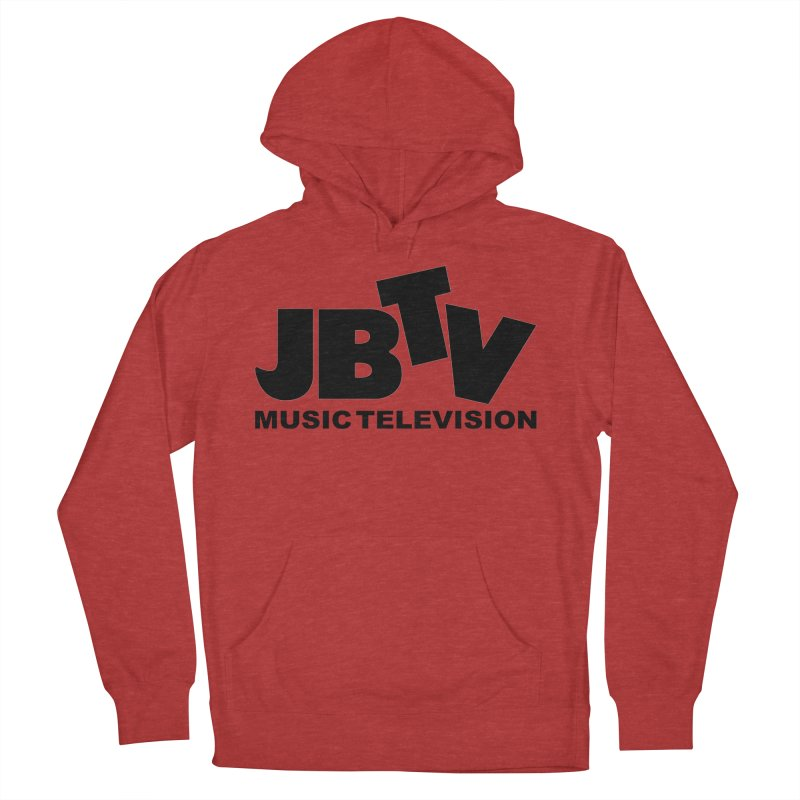 JBTV Music Television Black Men's Pullover Hoody by JBTV's Artist Shop