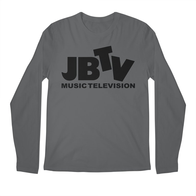 JBTV Music Television Black Men's Longsleeve T-Shirt by JBTV's Artist Shop