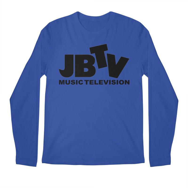 JBTV Music Television Black Men's Longsleeve T-Shirt by JBTV's Artist Shop