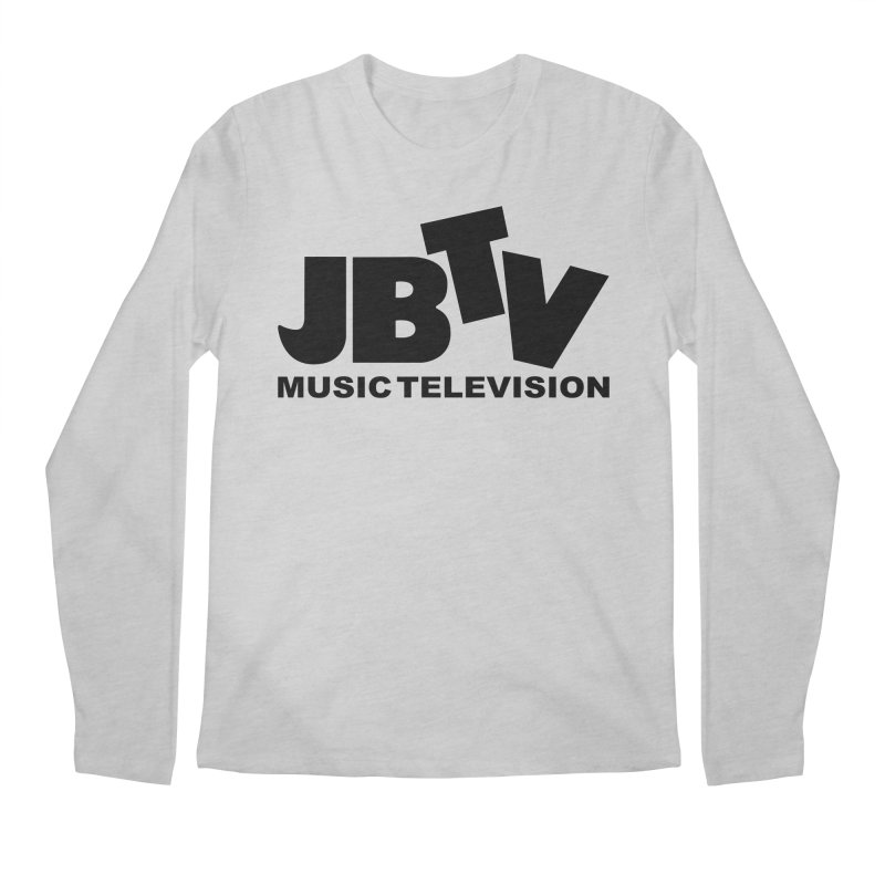 JBTV Music Television Black Men's Regular Longsleeve T-Shirt by JBTV