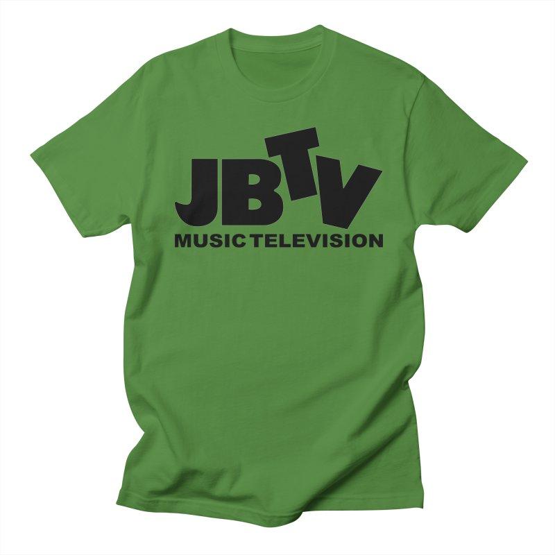 JBTV Music Television Black Women's Unisex T-Shirt by JBTV's Artist Shop