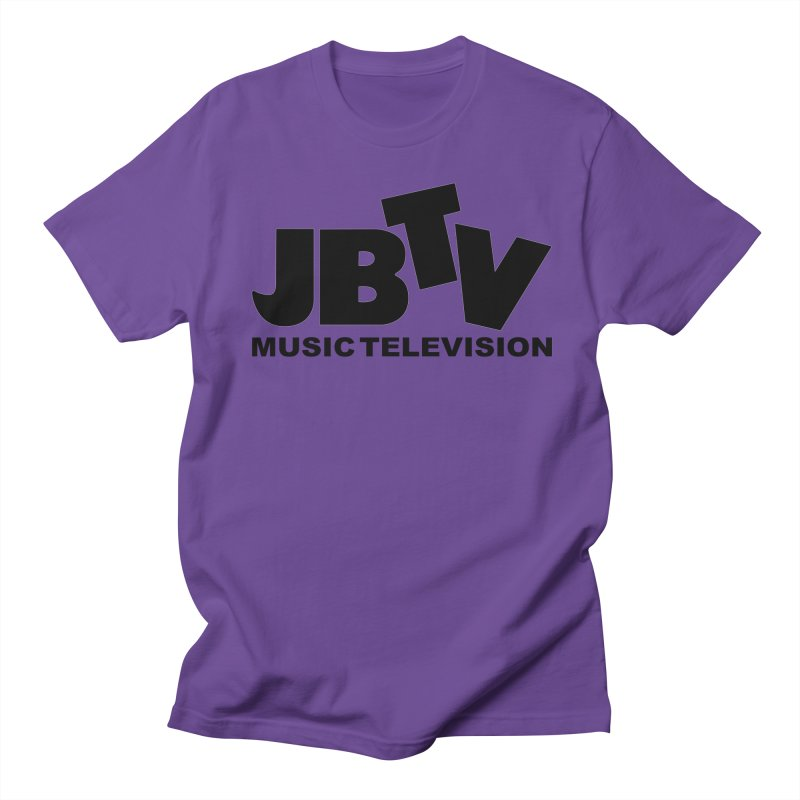 JBTV Music Television Black Women's Regular Unisex T-Shirt by JBTV