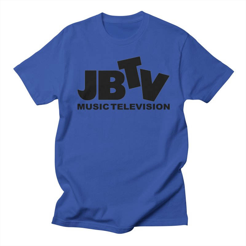 JBTV Music Television Black Men's Regular T-Shirt by JBTV