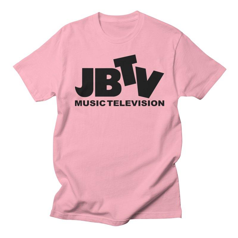 JBTV Music Television Black Men's Regular T-Shirt by JBTV's Artist Shop