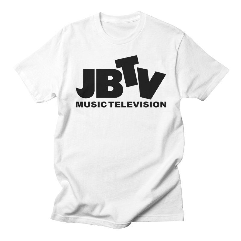 JBTV Music Television Black Women's Regular Unisex T-Shirt by JBTV's Artist Shop