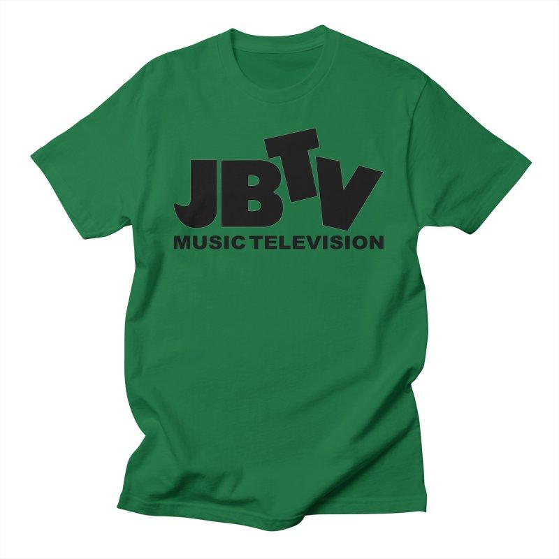 JBTV Music Television Black Women's T-Shirt by JBTV