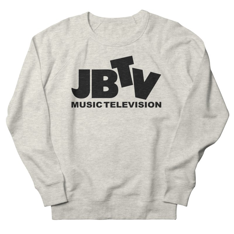 JBTV Music Television Black Women's Sweatshirt by JBTV's Artist Shop