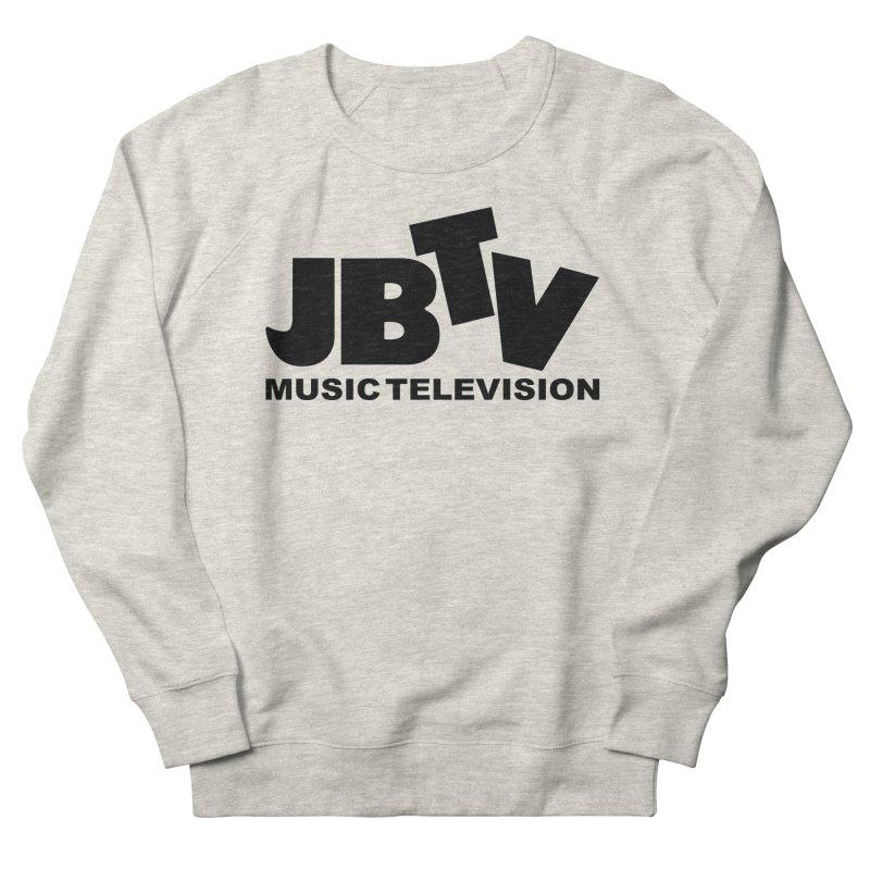 JBTV Music Television Black Women's French Terry Sweatshirt by JBTV's Artist Shop