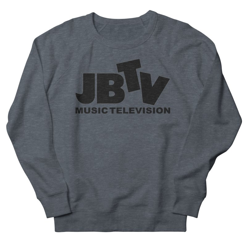 JBTV Music Television Black Men's Sweatshirt by JBTV's Artist Shop