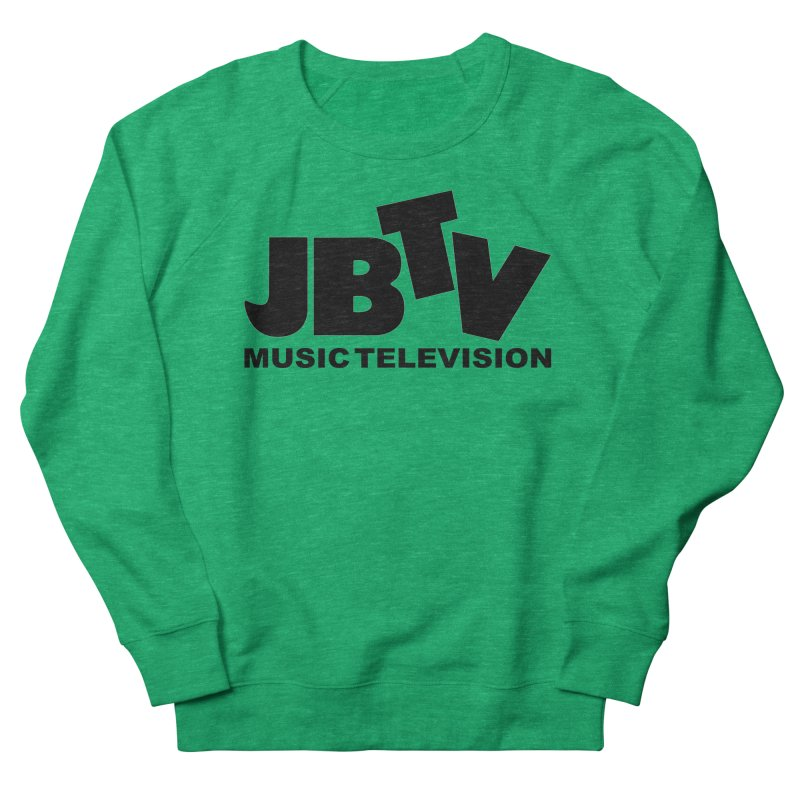 JBTV Music Television Black Men's Sweatshirt by JBTV's Artist Shop