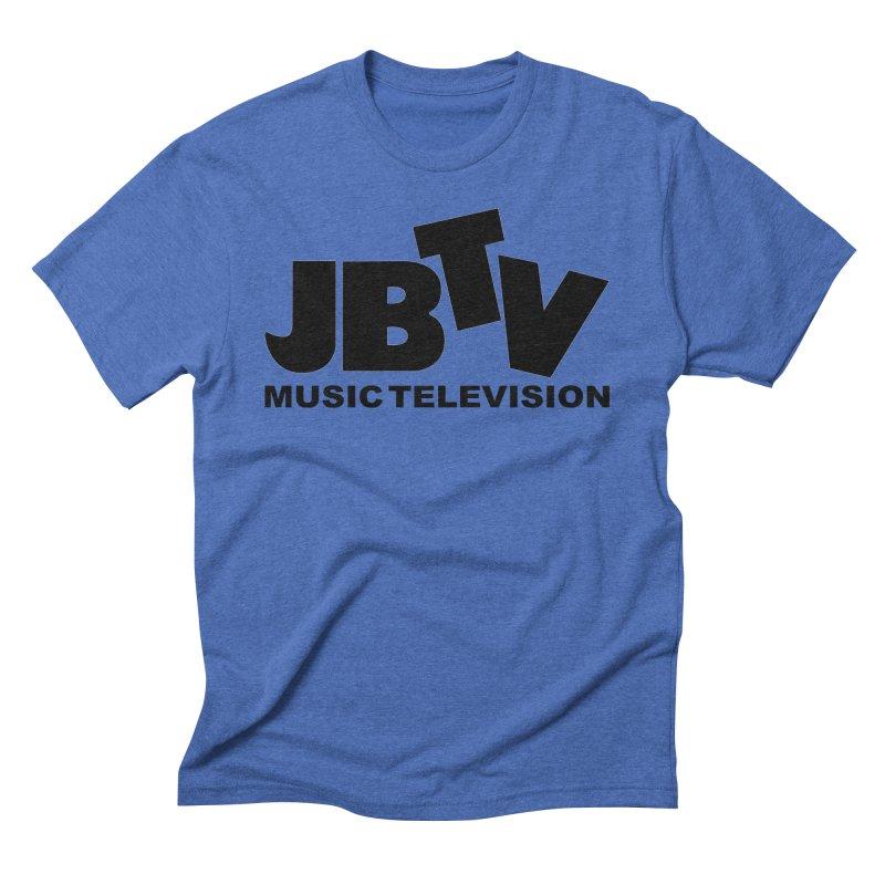 JBTV Music Television Black Men's Triblend T-Shirt by JBTV's Artist Shop