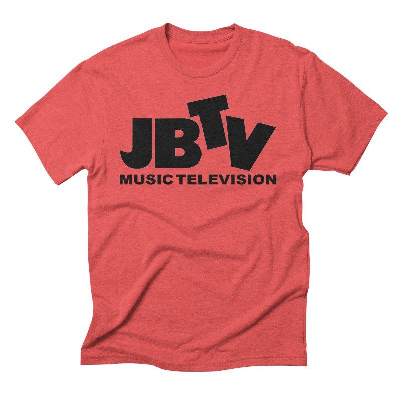 JBTV Music Television Black Men's Triblend T-Shirt by JBTV