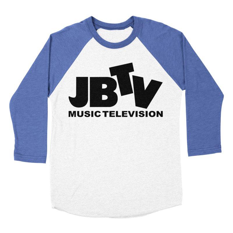 JBTV Music Television Black Women's Baseball Triblend Longsleeve T-Shirt by JBTV