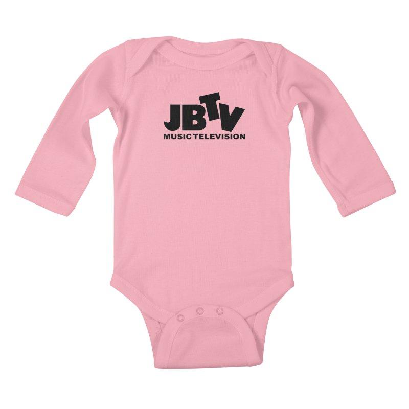 JBTV Music Television Black Kids Baby Longsleeve Bodysuit by JBTV's Artist Shop