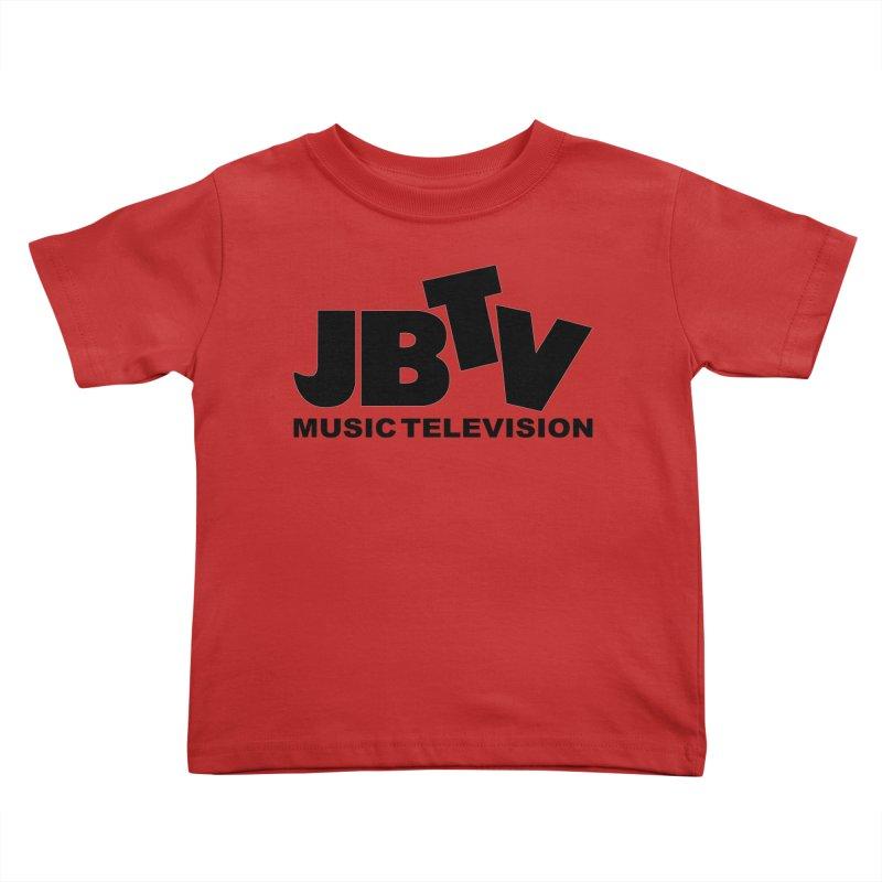 JBTV Music Television Black Kids Toddler T-Shirt by JBTV