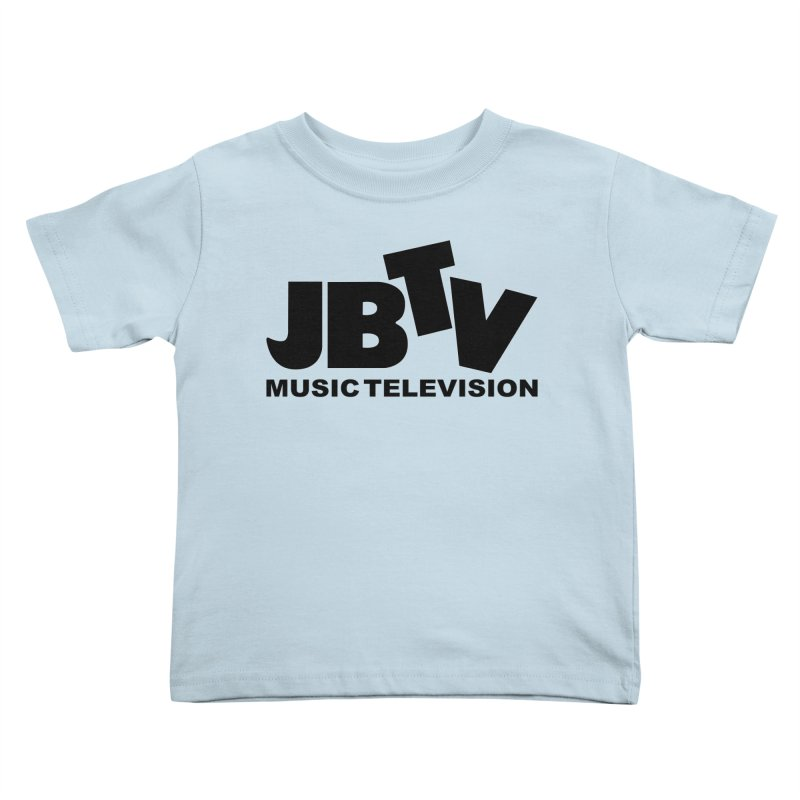 JBTV Music Television Black Kids Toddler T-Shirt by JBTV