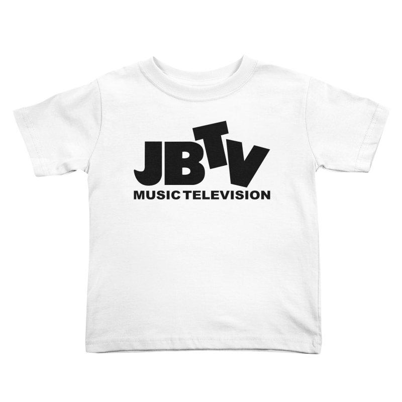 JBTV Music Television Black Kids Toddler T-Shirt by JBTV's Artist Shop