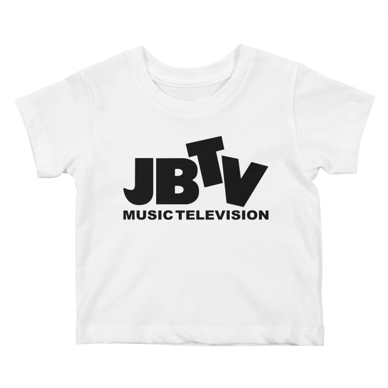JBTV Music Television Black Kids Baby T-Shirt by JBTV's Artist Shop