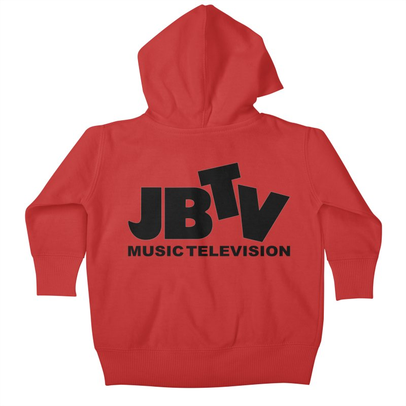 JBTV Music Television Black Kids Baby Zip-Up Hoody by JBTV's Artist Shop