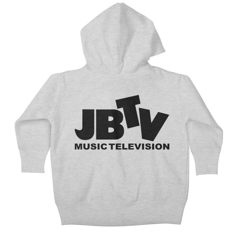 JBTV Music Television Black Kids Baby Zip-Up Hoody by JBTV